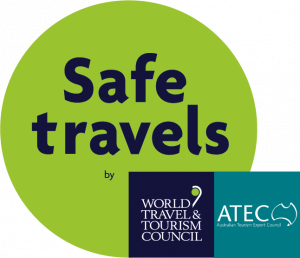 WTTC SafeTravels Stamp-ATEC-TEAL